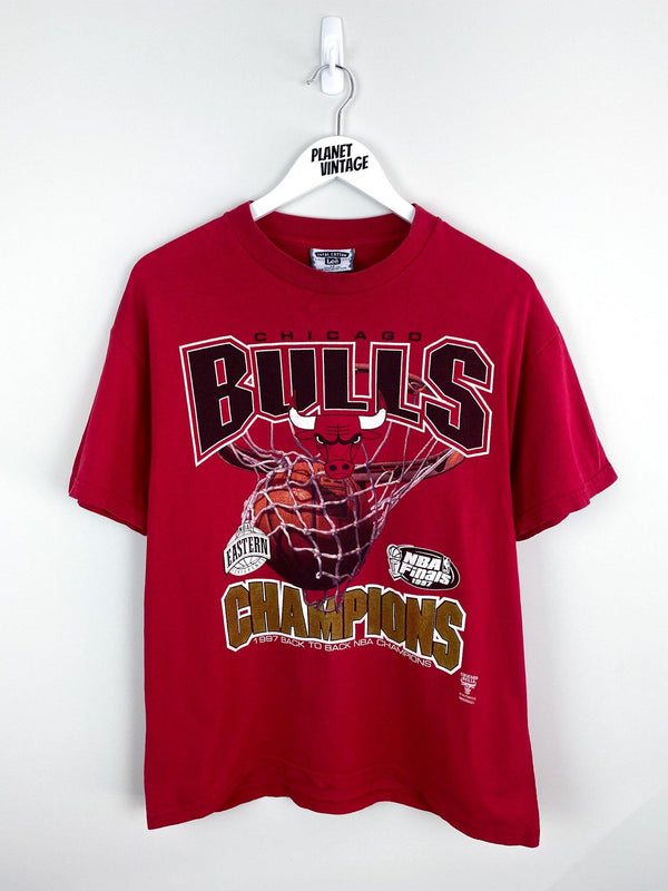 Chicago Bulls Champs x Lee 1997 Tee (M) - Planet Vintage Store