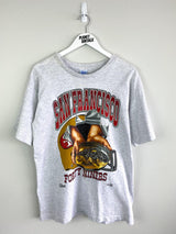 San Fransisco 49ers Tee (L) - Planet Vintage Store