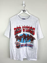 Detroit Red Wings 1996 Tee (L) - Planet Vintage Store
