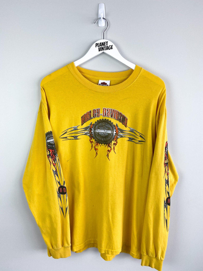 Harley Davidson Kansas City Long Sleeve Tee (L) - Planet Vintage Store