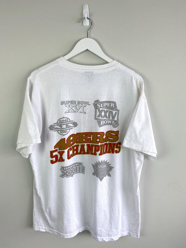 Super Bowl San Francisco 49ers Steve Young MVP Tee (XL) - Planet Vintage Store