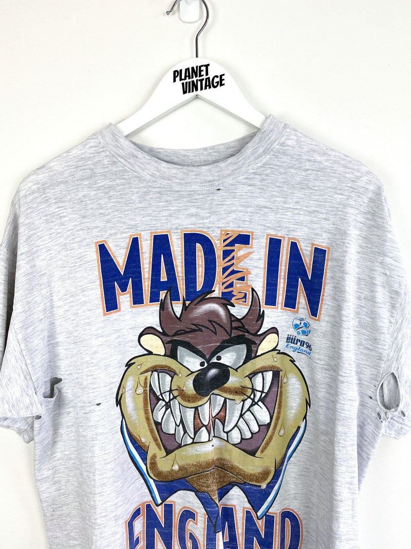 Taz Mad in England 1995 Tee (L) - Planet Vintage Store