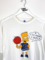 Bart Simpson Colts Tee (XL) - Planet Vintage Store