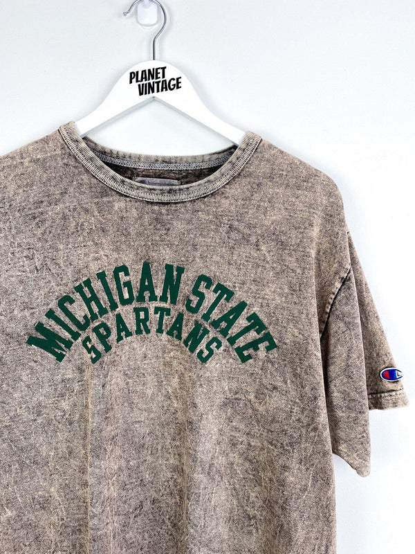 Michigan State Spartans x Champion Tee (L) - Planet Vintage Store