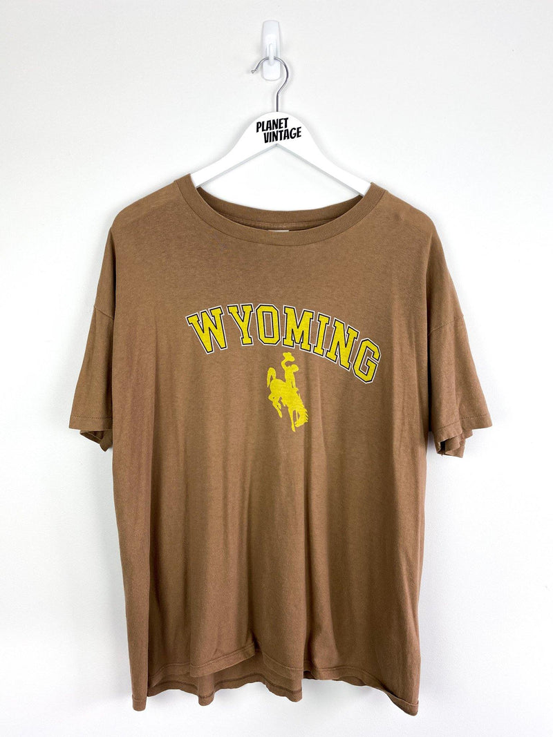 Wyoming Tee (XL) - Planet Vintage Store