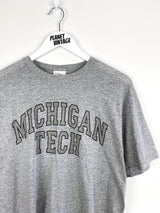 Michigan Tech Tee (M) - Planet Vintage Store