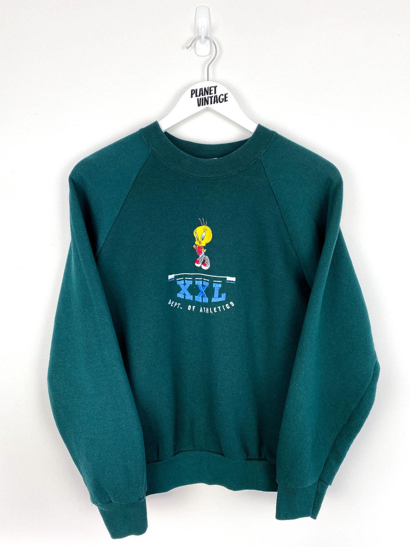 Tweety Bird Looney Tunes Sweatshirt (S) - Planet Vintage Store