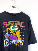 Green Bay Packers Super Bowl Champs 1997 Tee (XL) - Planet Vintage Store