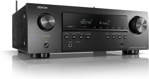 Denon AVR-S650H Audio Video Receiver, 5.2 Channel (150W X 5) 4K UHD Home Theater Surround Sound (2019) | Music Streaming | Wi-Fi, Bluetooth, AirPlay 2, Alexa, HEOS Built-in | eARC and Upgraded HDCP