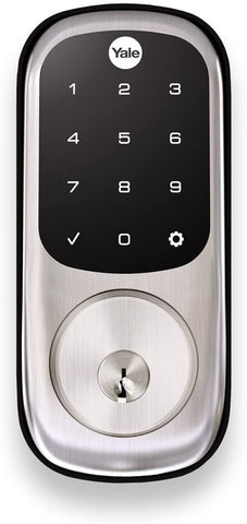 Yale Assure Lock with Z-Wave - Smart Touchscreen Deadbolt - Works with Ring Alarm, Samsung SmartThings, Wink and More