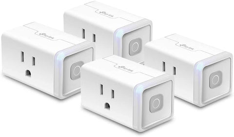Kasa Smart Plug HS103P4, Smart Home Wi-Fi Outlet Works with Alexa, Echo, Google Home & IFTTT, No Hub Required, Remote Control, 15 Amp, UL Certified, 4-Pack