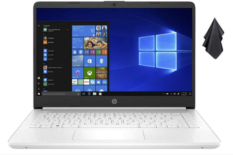 2021 Newest HP Stream 14-inch HD Non-Touch Laptop, Intel 2-Core N4020 up to 2.8 GHz, 4 GB RAM, 64 GB eMMC, Wi-Fi, Webcam, Bluetooth, Windows 10 S with Office 365 Personal for 1 Year + Oydisen Cloth
