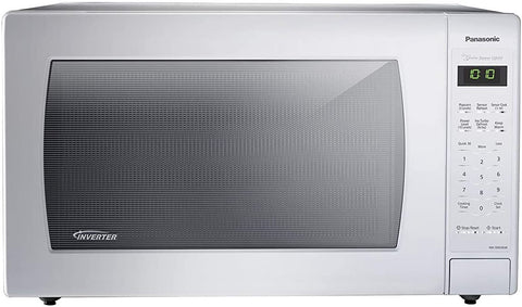 Panasonic NN-SN936W Countertop Microwave with Inverter Technology, 2.2 Cubic Foot, 1250W