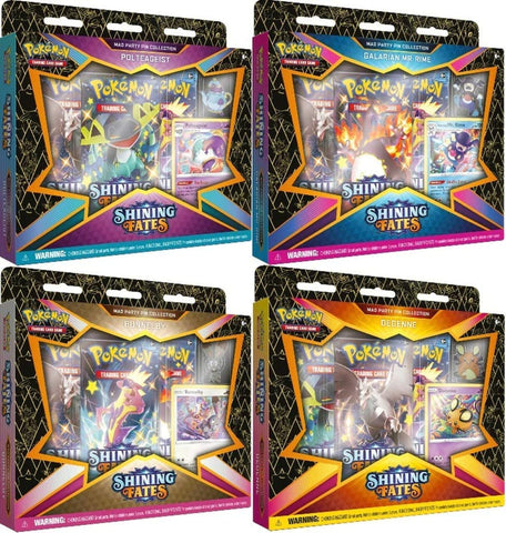 Pokémon TCG: Shining Fates Mad Party Pin Collection