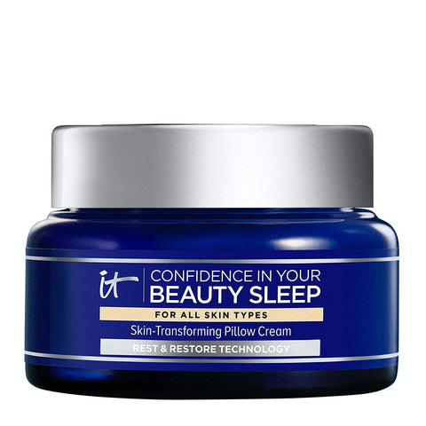 IT Cosmetics Confidence in Your Beauty Sleep - Anti-Aging Night Cream - Visibly Improves Fine Lines, Wrinkles, Dryness, Dullness & Loss of Firmness - With Hyaluronic Acid - 2.0 fl oz