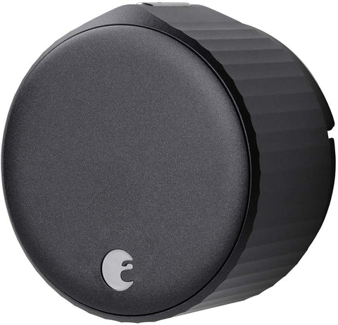 August Wi-Fi Smart Lock (Newest Model), Matte Black - Add keyless entry to your existing home or apartment lock in minutes