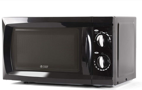 Commercial Chef CHM660B Countertop Small Microwave Oven, 0.6 Cubic Feet