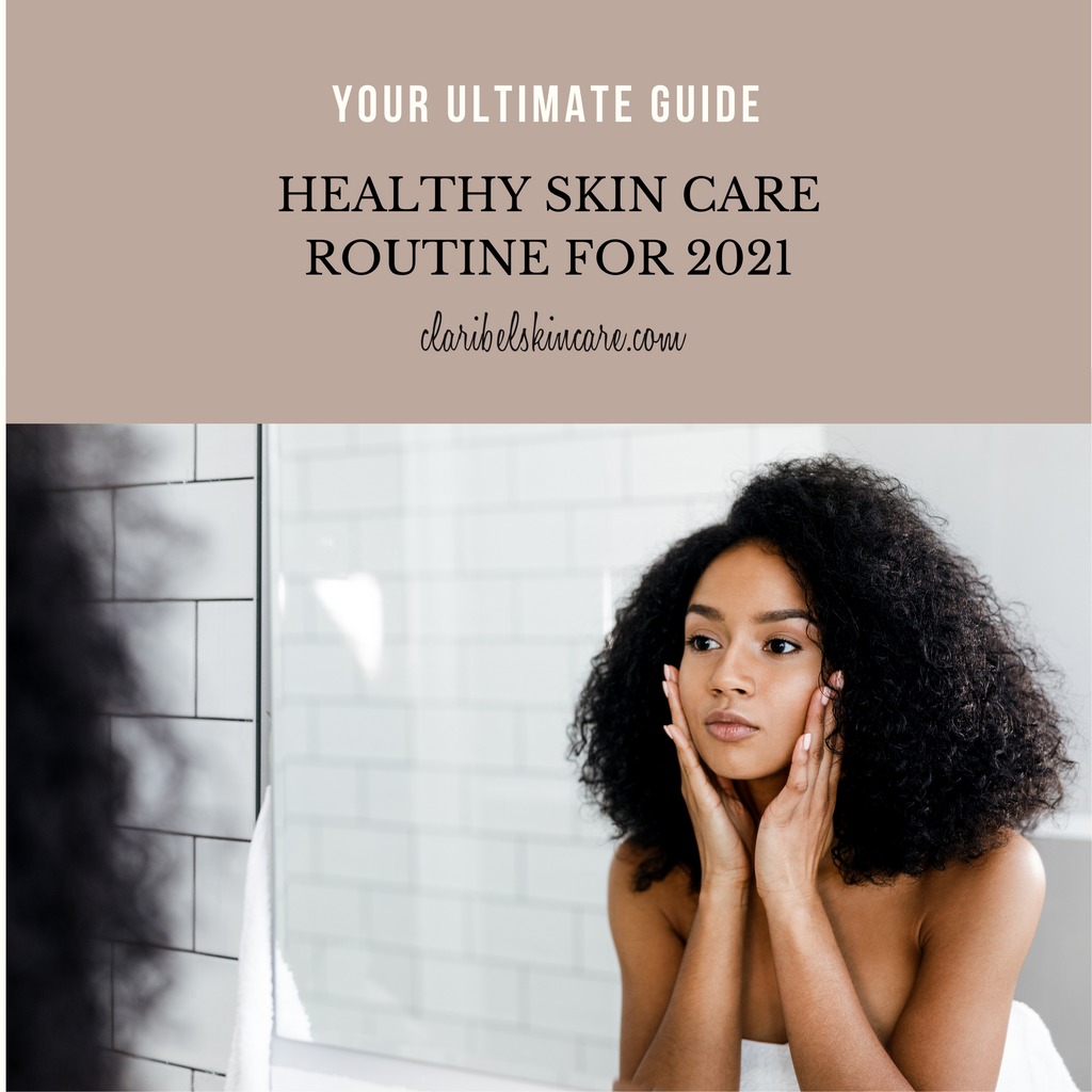 healthy skin care routine