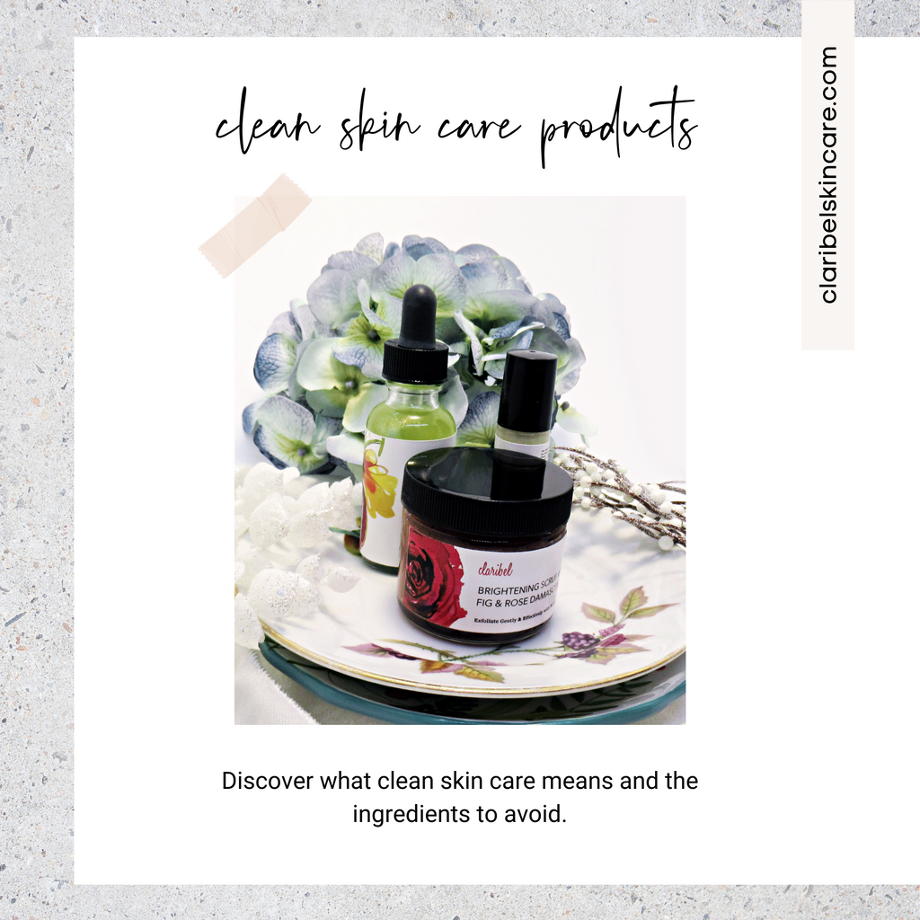 clean skin care products
