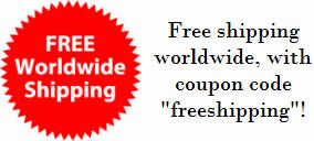 Free shipping worldwide with coupon code 'freeshipping'!