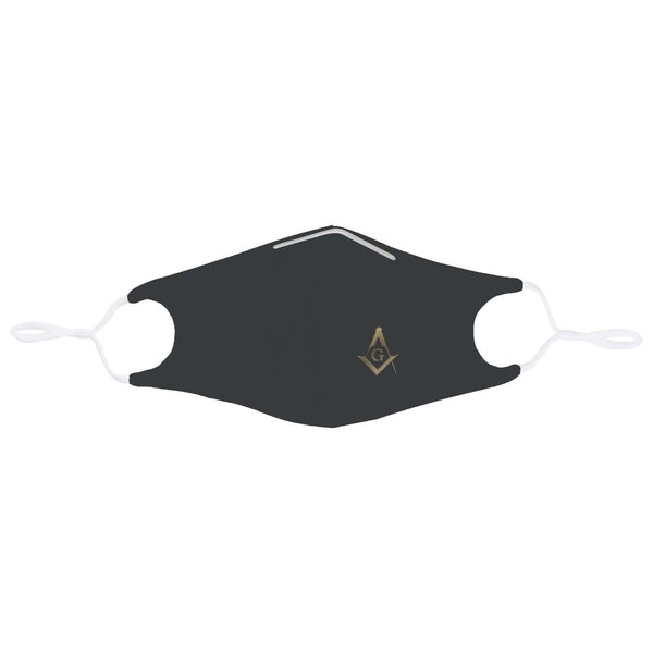 Square and Compass Mask (Gold)
