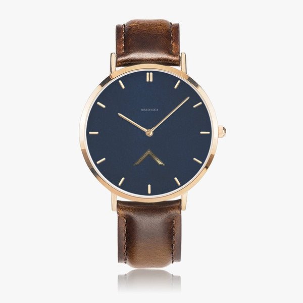 Worshipful Master Leather Strap Quartz Watch