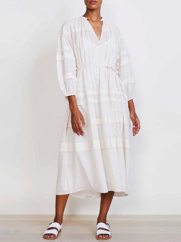 Apiece Apart Mari Pintuck Dress