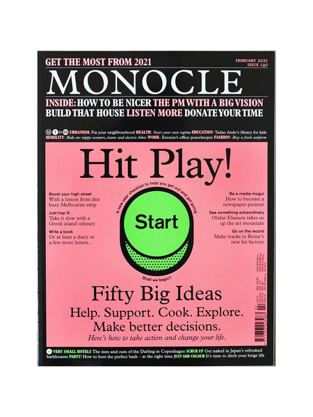 Monocle Magazine Issue 140