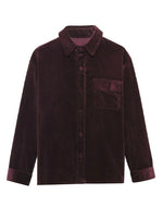 YONY Corduroy Button Down