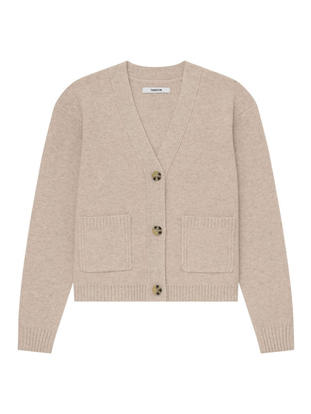Thakoon Cropped Wool Cardigan