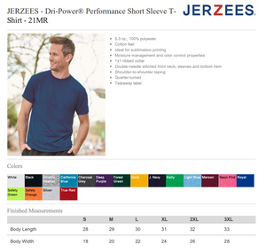 "Friends ""Seven"" Jerzees T-Shirt"