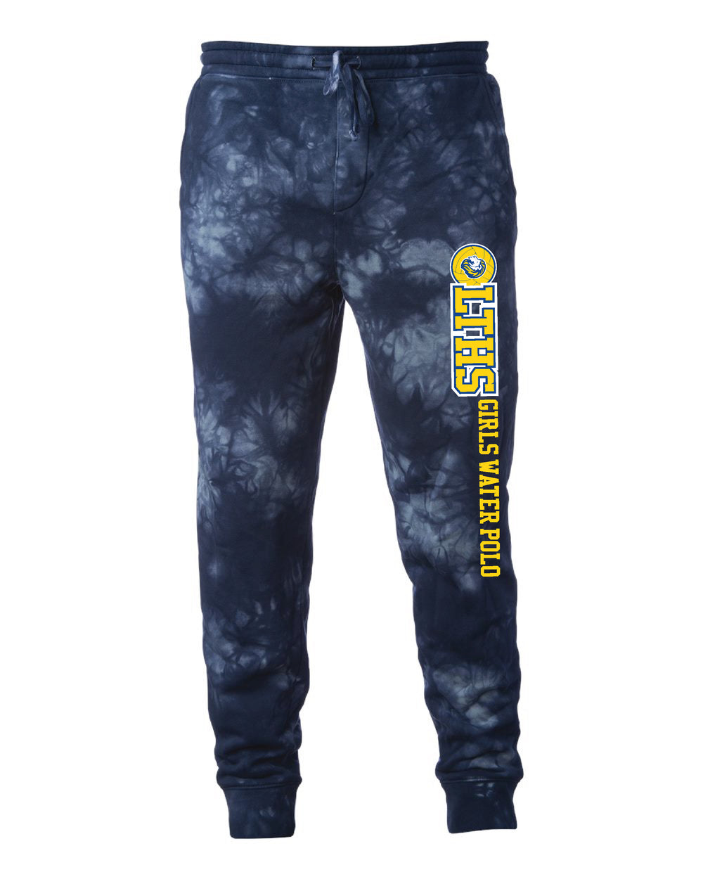 LTHS Girls Water Polo Independent Trading Co. Tie Dye Joggers