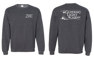 Guiding Light Academy - Crewneck Sweatshirt w/ Left Chest/Full Back Impression