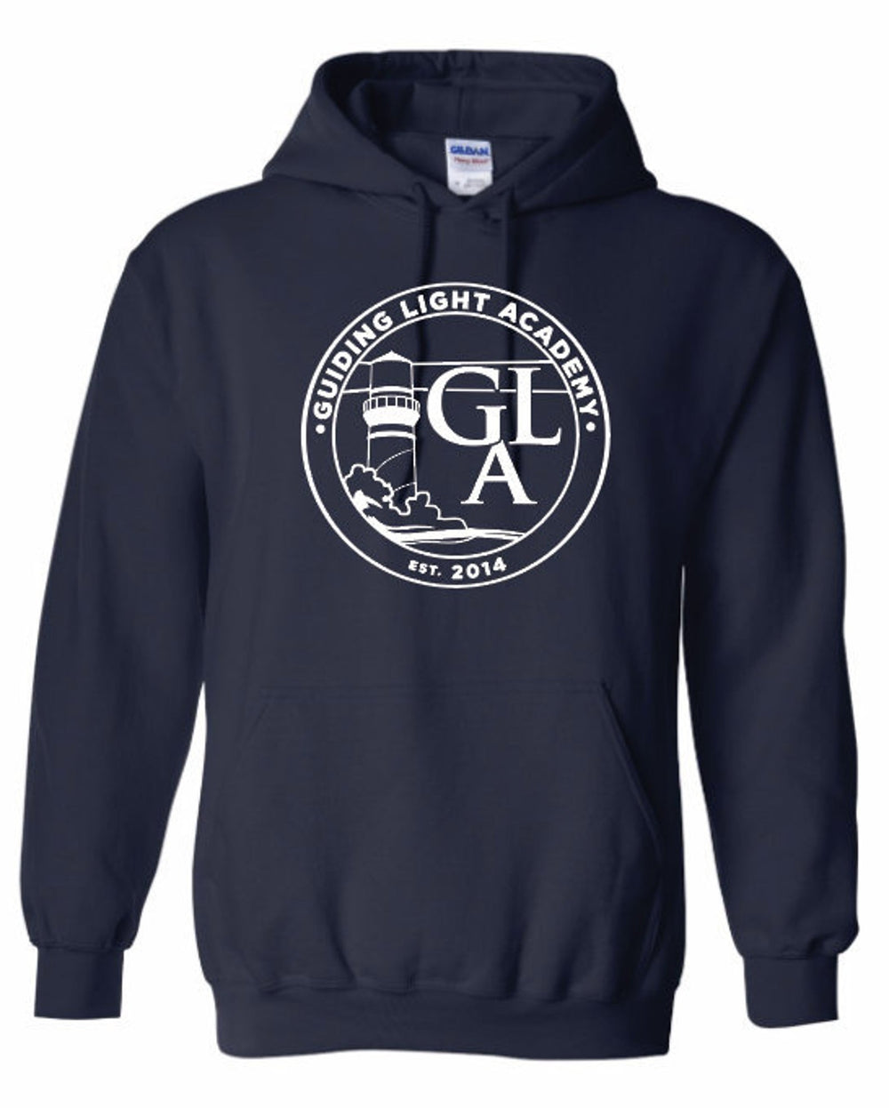 Guiding Light Academy - Gildan Hoodie w/ Circle Full Front Impression