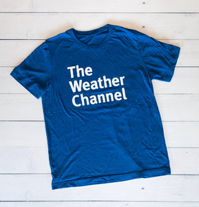 The Weather Channel Bella+Canvas T-Shirt