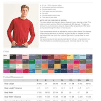 Create Your Own Comfort Colors Long Sleeve
