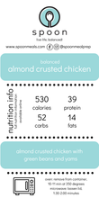 Load image into Gallery viewer, Almond Crusted Chicken