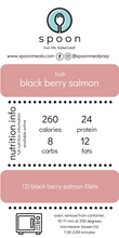 Load image into Gallery viewer, black berry salmon