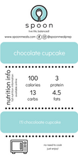 Load image into Gallery viewer, low cal chocolate cupcake