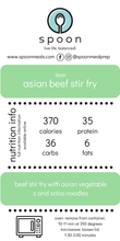 Load image into Gallery viewer, Asian Beef Stir Fry