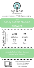 Load image into Gallery viewer, Honey Buffalo Chicken Skewers