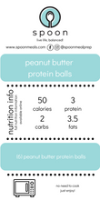 Load image into Gallery viewer, peanut butter protein balls