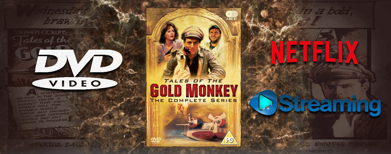 Blog Tales Of The Gold Monkey - DVD -Boutique Jack Russell