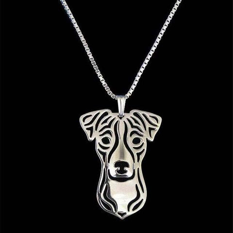 Collier Jack Russell<br>Terrier Colliers Boutique Jack Russell Plaqué Argent