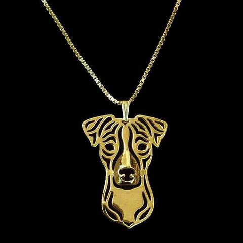 Collier Jack Russell<br>Terrier Colliers Boutique Jack Russell Plaqué Or