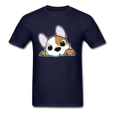 T-Shirt Jack Russell<br>Tout Mignon BD T-Shirt Boutique Jack Russell Navy S