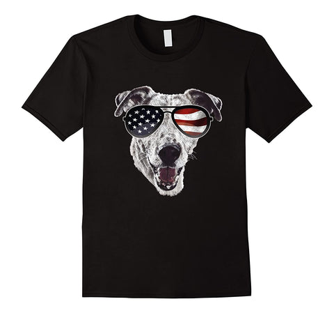 T-Shirt Jack Russell<br>Patriot USA T-Shirt Boutique Jack Russell Noir S