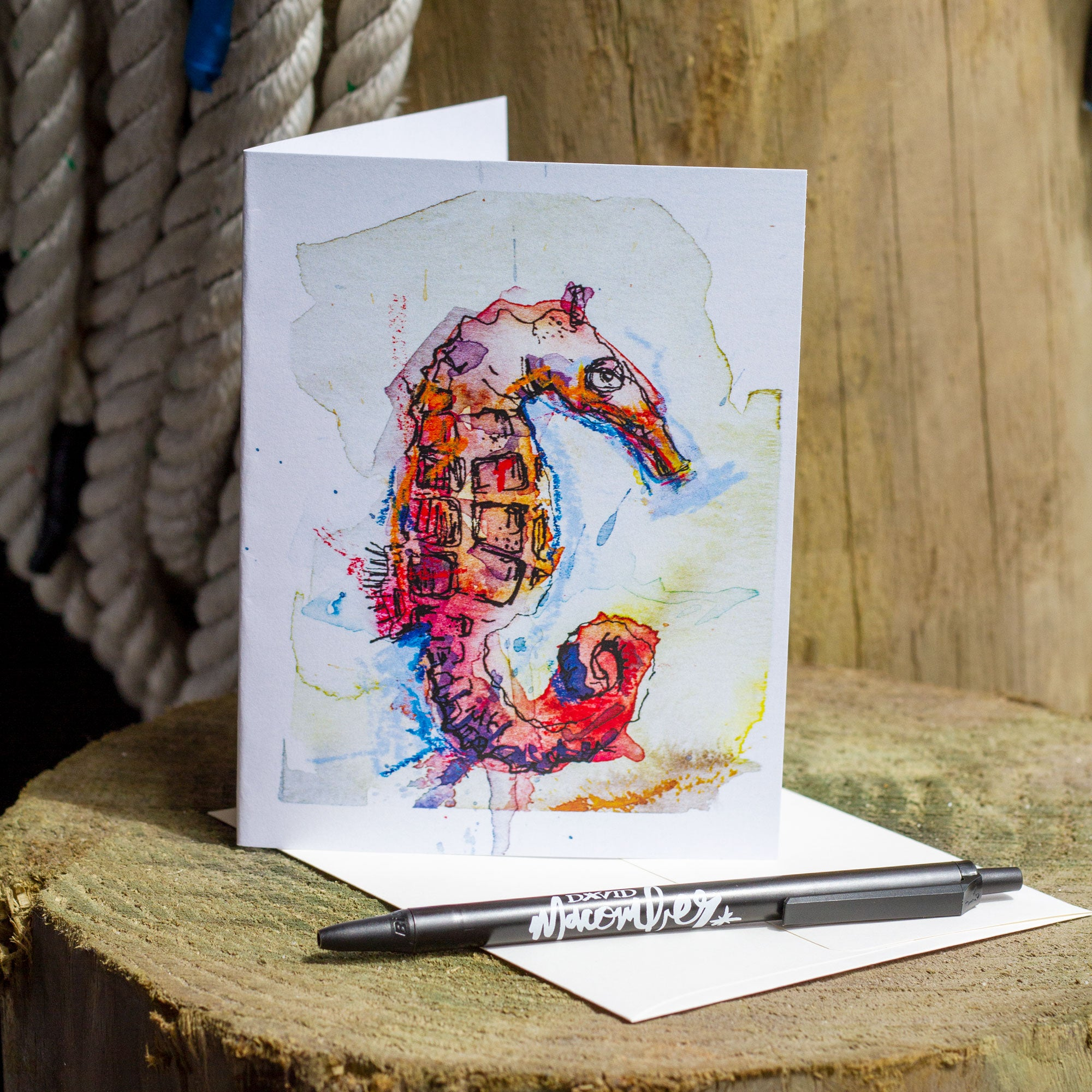 Seahorse Greeting Cards