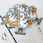Load image into Gallery viewer, Seagull Surf Sticker