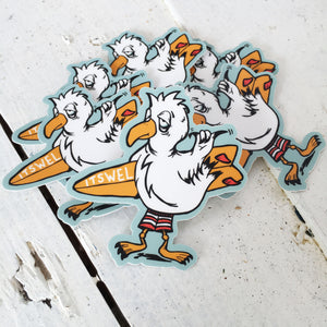 Seagull Surf Sticker
